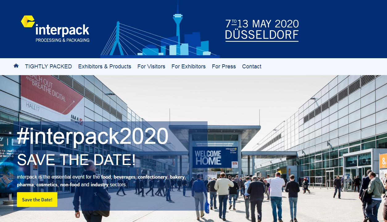 Γερμανία Έκθεση Interpack 2020