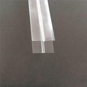 Διαφανής πλαστική σακούλα φερμουάρ